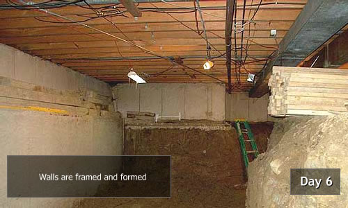 Crawlspace To Basement Conversion Crawlspace To Basement