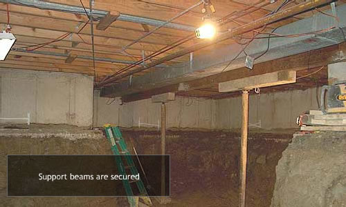From crawlspace to full basement in 15 days jd concrete for Convert crawlspace to basement cost